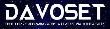 DAVOSET DDOS attack software