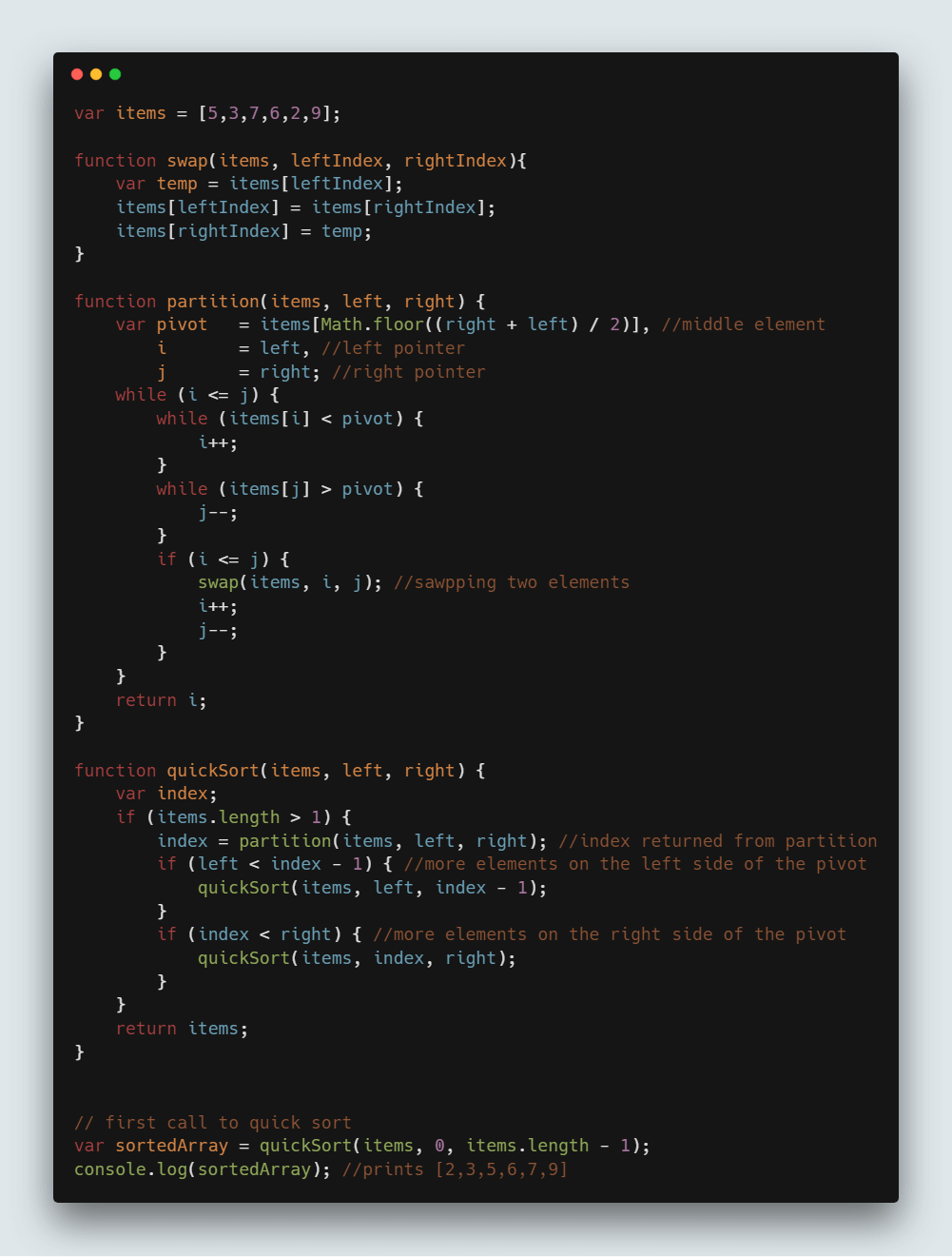 collection.sort algorithm in java