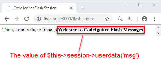 How to Set Session in Codeigniter With Example
