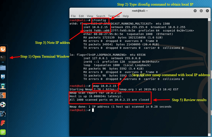 Kali Linux Tutorial: What is, Install, Utilize Metasploit and Nmap