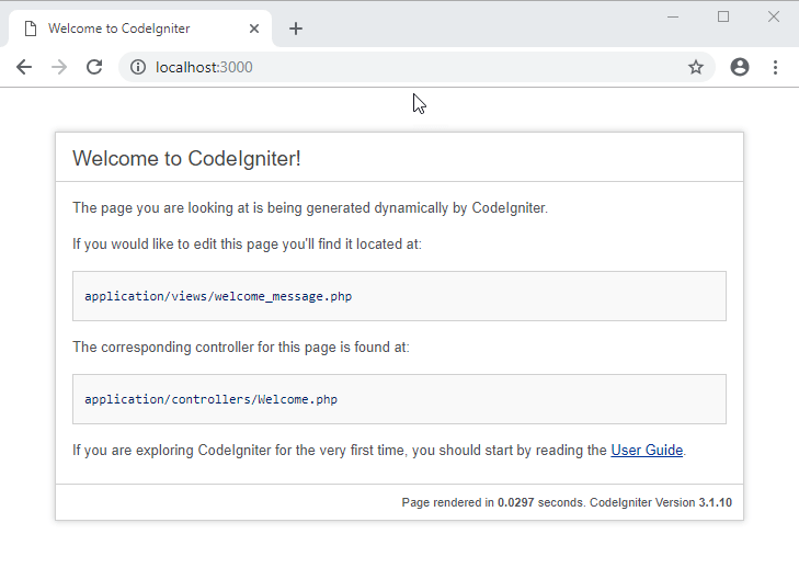 How to Download & Install CodeIgniter + Composer [Configuration