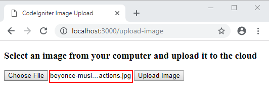 How to Upload Image & File in CodeIgniter (with Example)