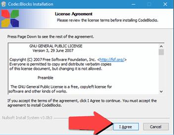 Installation of C on Windows