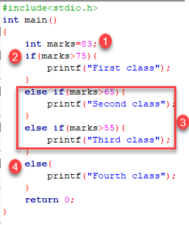 C Conditional Statement: IF, IF Else and Nested IF Else with