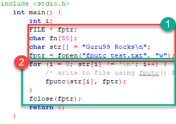 files in c examples