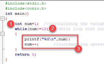 Example of While Loop in C Programming