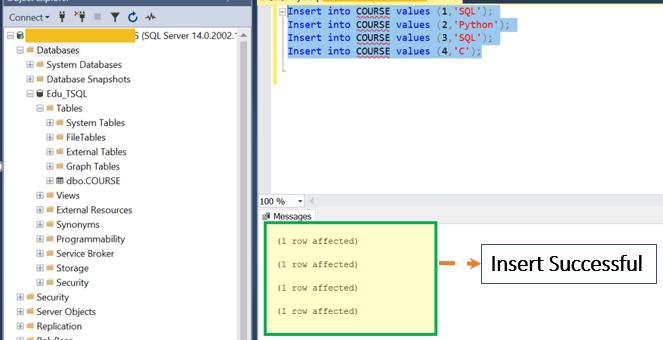 Sql Server Table Create Alter Drop T Sql Examples