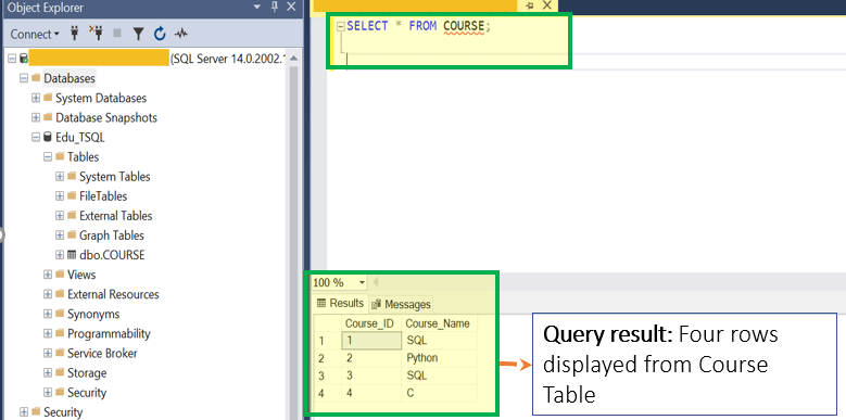SQL Server Table: CREATE, ALTER, DROP [T-SQL Examples]