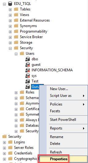 Create Login, User, assign Permission: SQL Server Tutorial