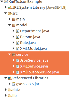 Convert JSON to XML using Gson and JAXB: JAVA Example
