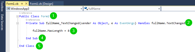 VB Net TEXTBOX Control Tutorial: Properties with Example