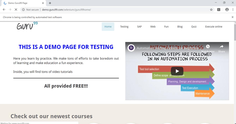 Refresh Page using Selenium Webdriver
