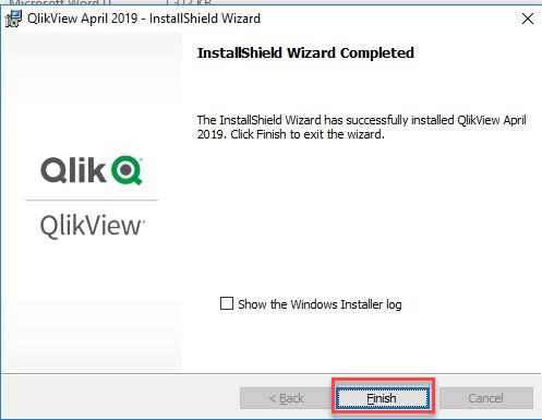 Install QlikView