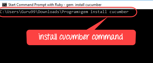 How to Download & Install CUCUMBER in Windows