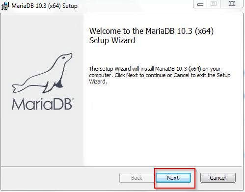 Installation of MariaDB
