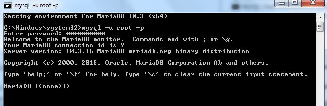 MariaDB Tutorial - Create a Database and Tables