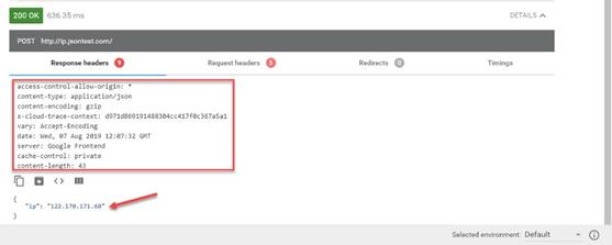 Steps for testing REST API