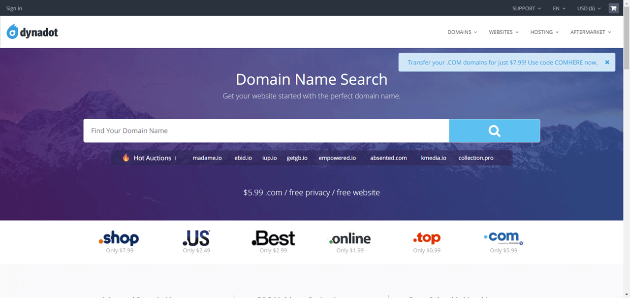 BEST 10 Domain Registrars in 2019 (How to Buy Domain Name)