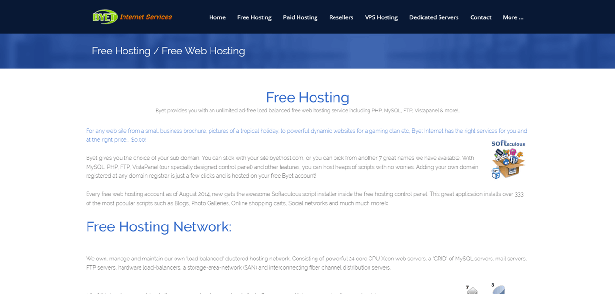 free web hosting no ads unlimited bandwidth