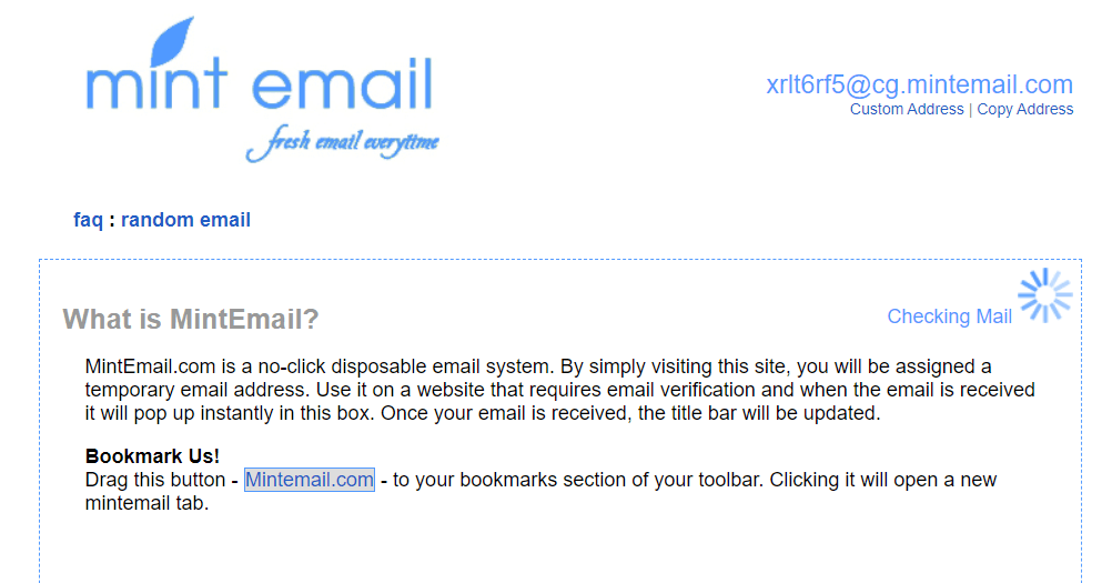 With password email account fake Email Generator