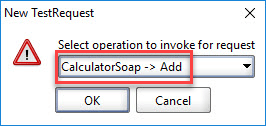 Adding a Test Step in SoapUI
