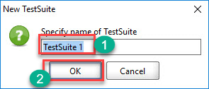 Steps to Create Test Suite in SoapUI