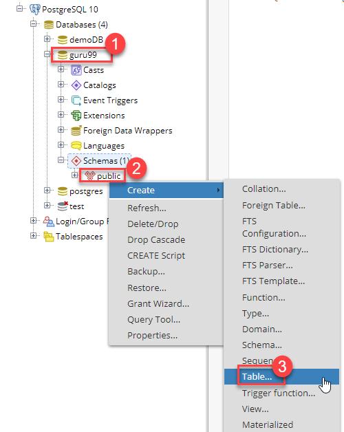 How to Create & Drop Table in PostgreSQL [Example]