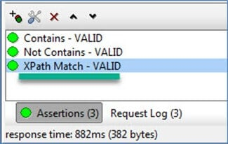 Example of SoapUI XPath Match Assertion