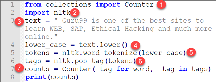 Counting POS Tags, Frequency Distribution & Collocations in NLTK