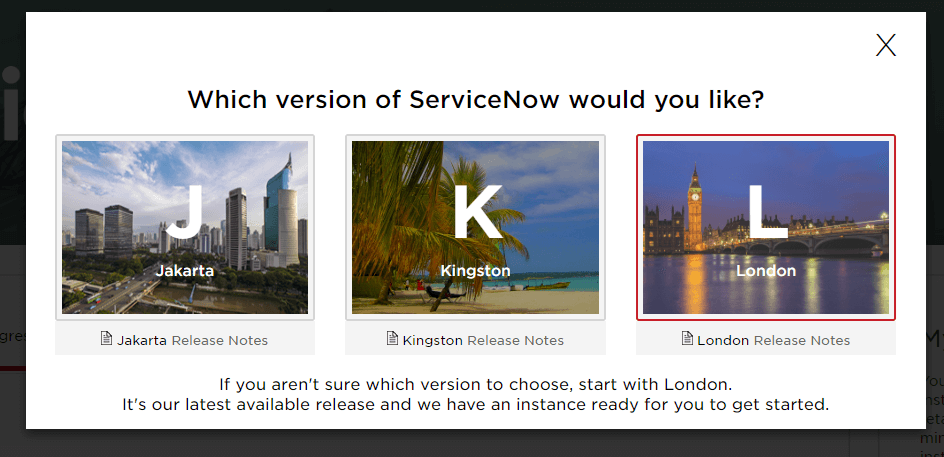 How access ServiceNow