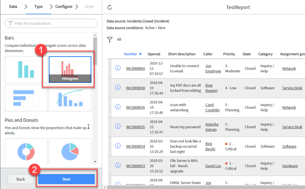 How to Create a Report in ServiceNow
