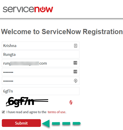 How to get access to ServiceNow