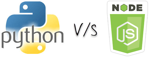 Difference between NodeJS and Python