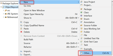 Creating Object Repository in Selenium WebDriver: XML & Properties file