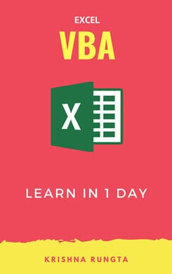Excel VBA Tutorial PDF