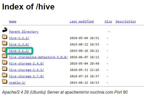 Downloading HIVE