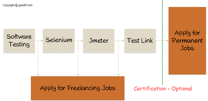 Process to become a Software Tester