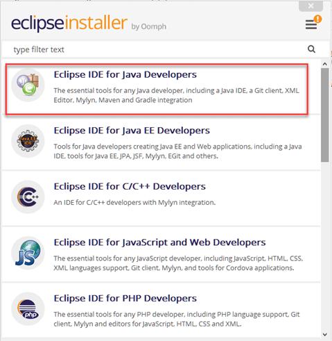 download eclipse ide for java developers 64 bit zip