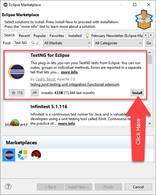 How to Download & Install TestNG in Eclipse for Selenium WebDriver