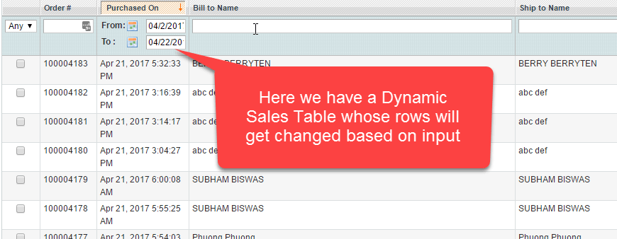 Handling Dynamic Web Tables Using Selenium WebDriver