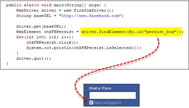 CheckBox, RadioButton y TextBox - WebDriver - Tutorial Selenium