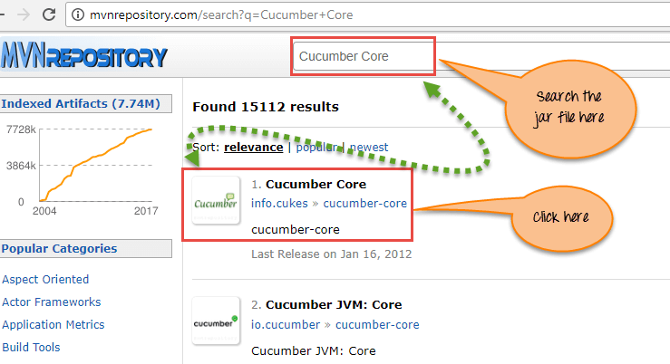Download Cucumber Core