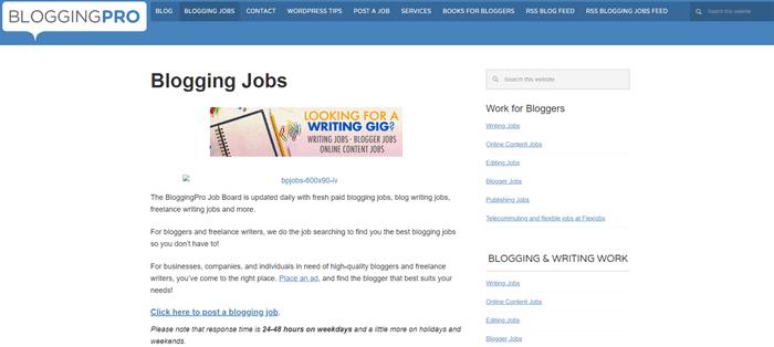 Blogging Pro