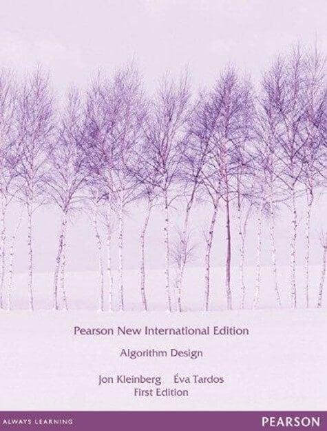 Các thuật toán- Thiết kế thuật toán: Pearson New International Edition