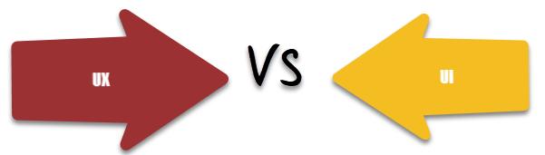 UX Design VS. UI Design