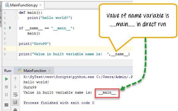 Python Main Function
