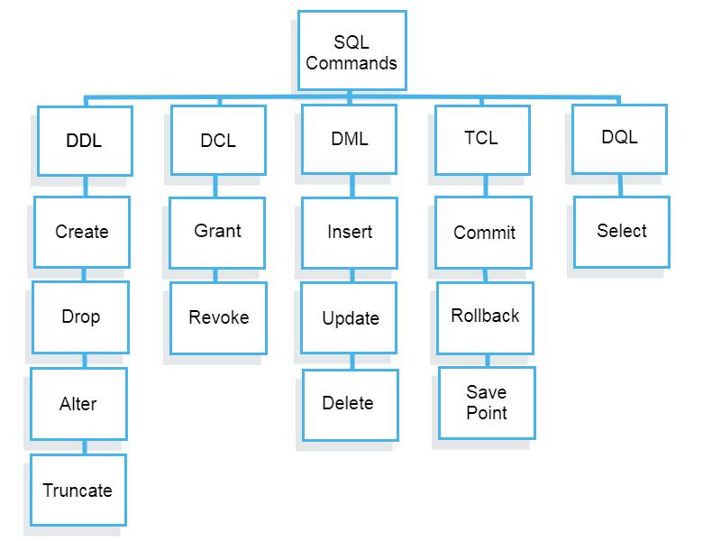 Types of SQL