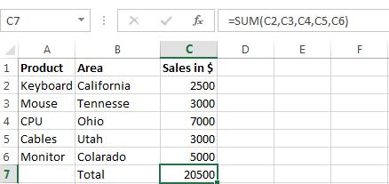 Excel Formula Interview Questions