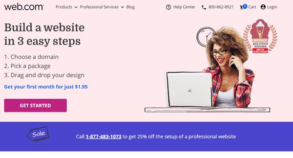Web.com web builder