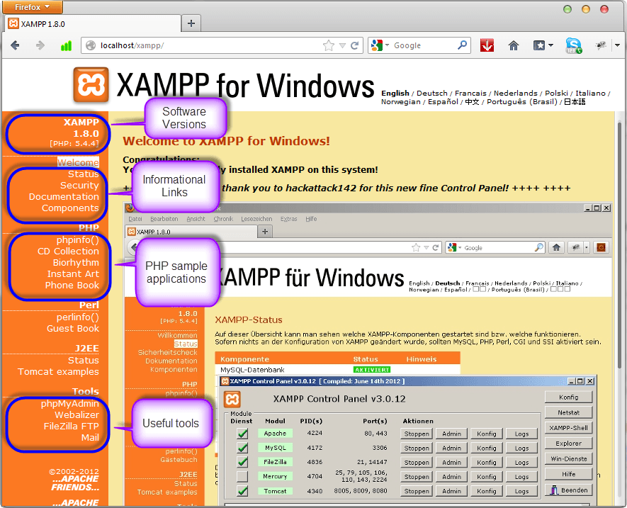 Download and Install XAMPP & Netbeans